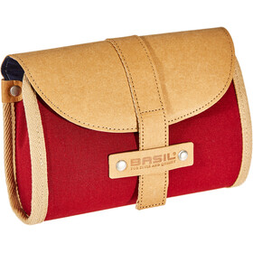 Basil Portland Saddle Bag Damen dunkelrot